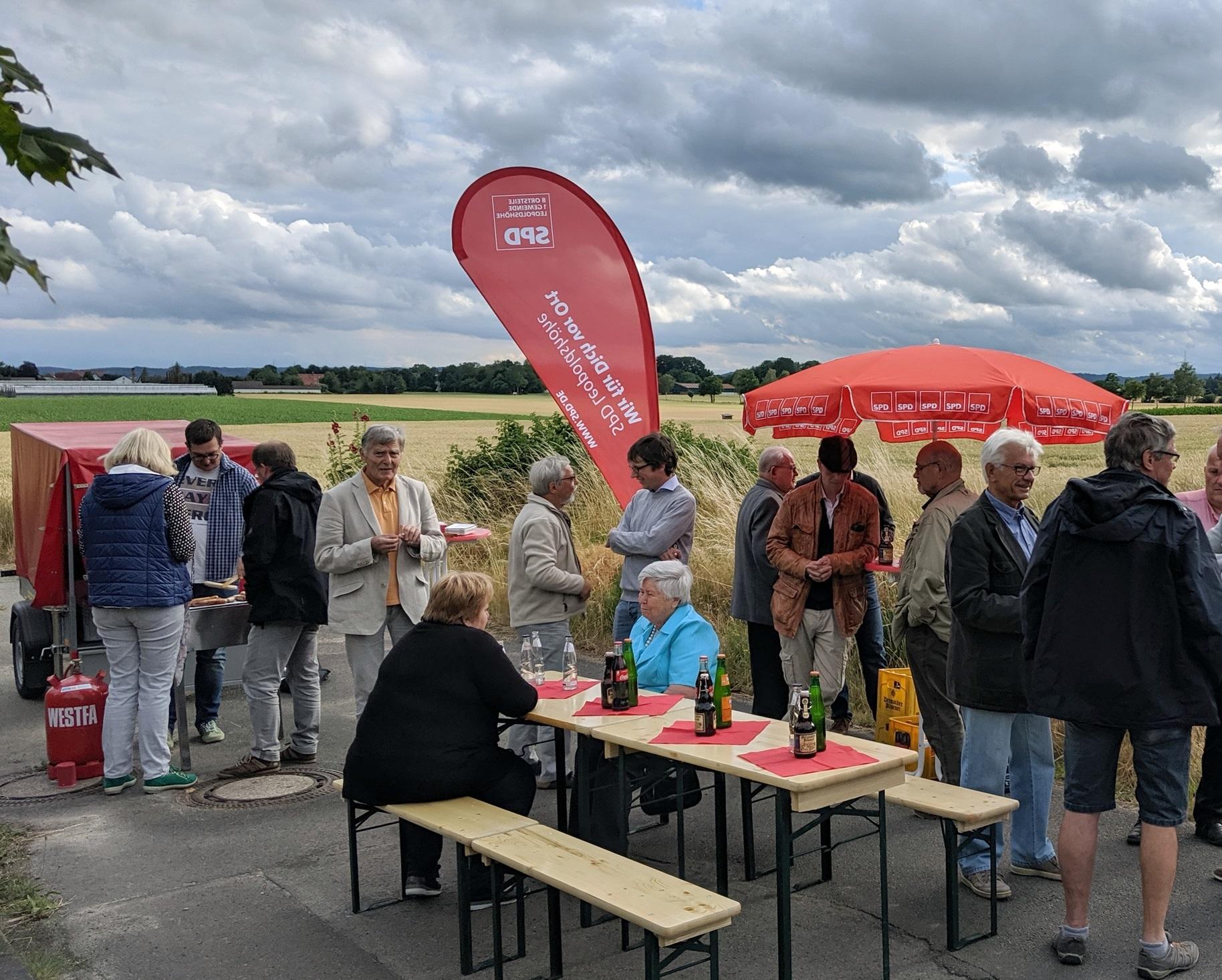 Roter Grill in Nienhagen