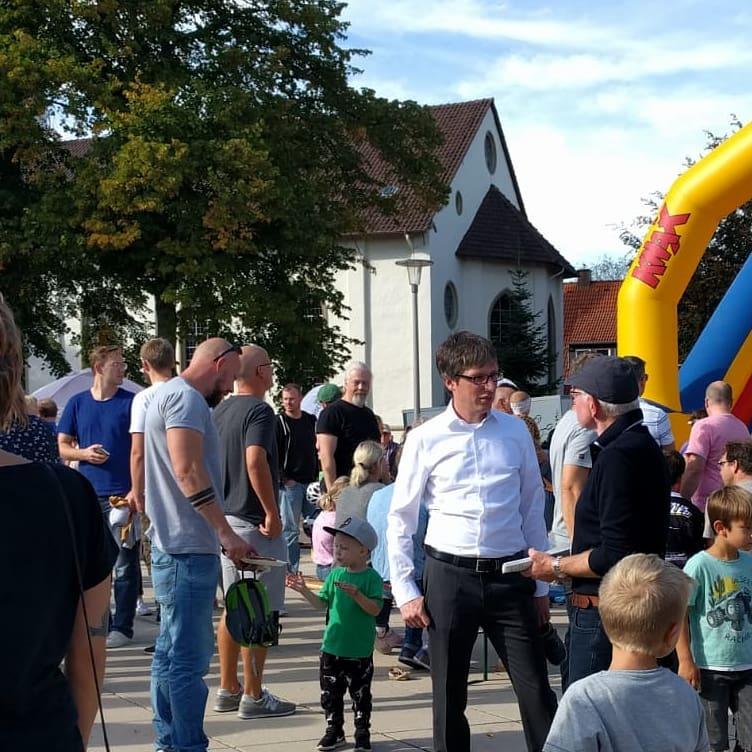 Generationsfest auf dem Marktplatz