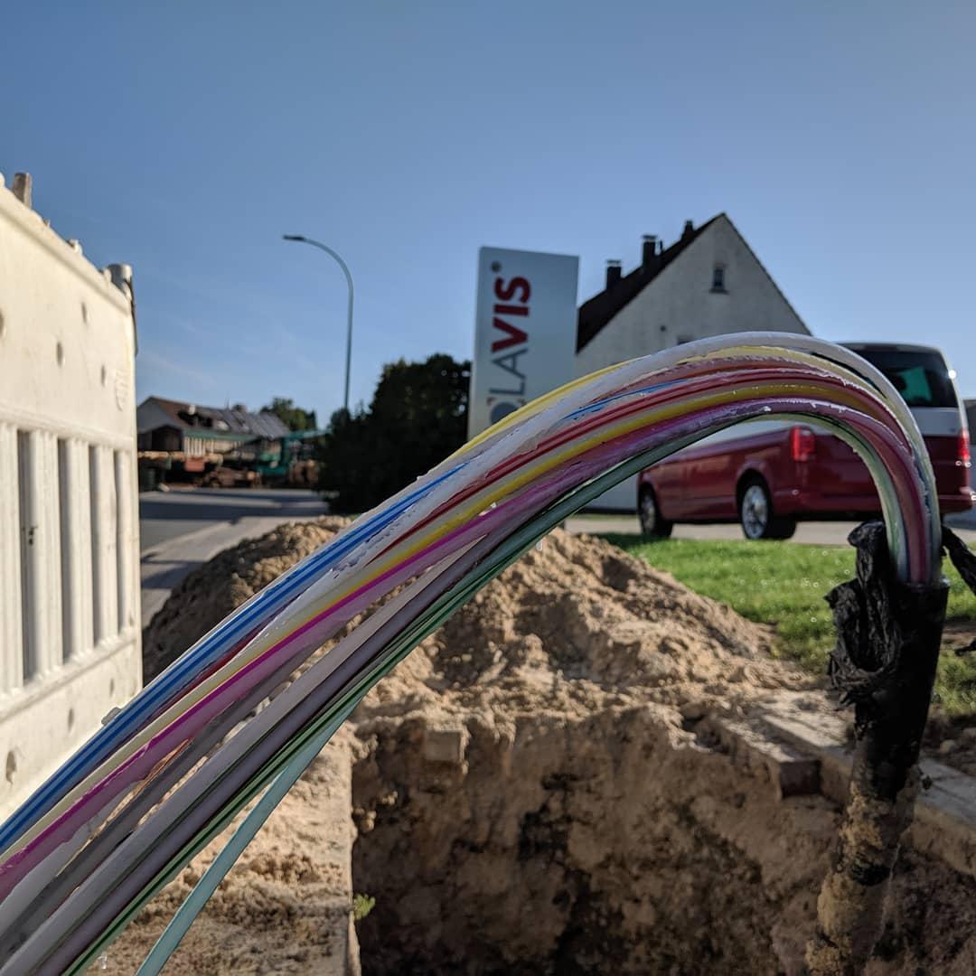 Glasfaser am Schuckenteichweg