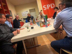Diskussion der SPD Lage, Oerlinghausen, Bad Salzuflen und Leopoldshöhe