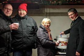 Kirschglühwein Adventsmarkt Leopoldshöhe
